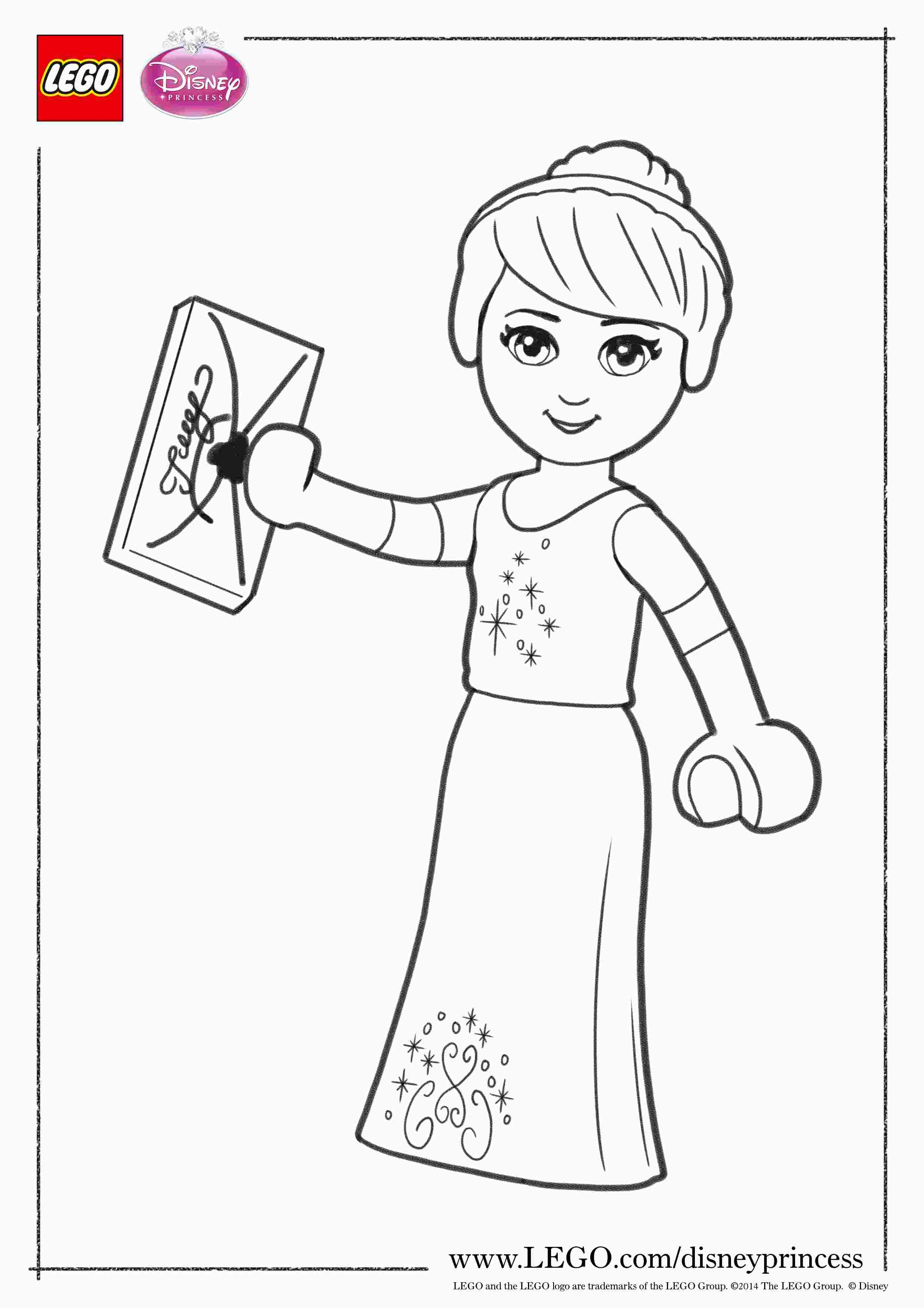 Lego Disney Princess Coloring Pages Lego Kleurplaten Prinses Kleurplaatjes Disney Prinsessen