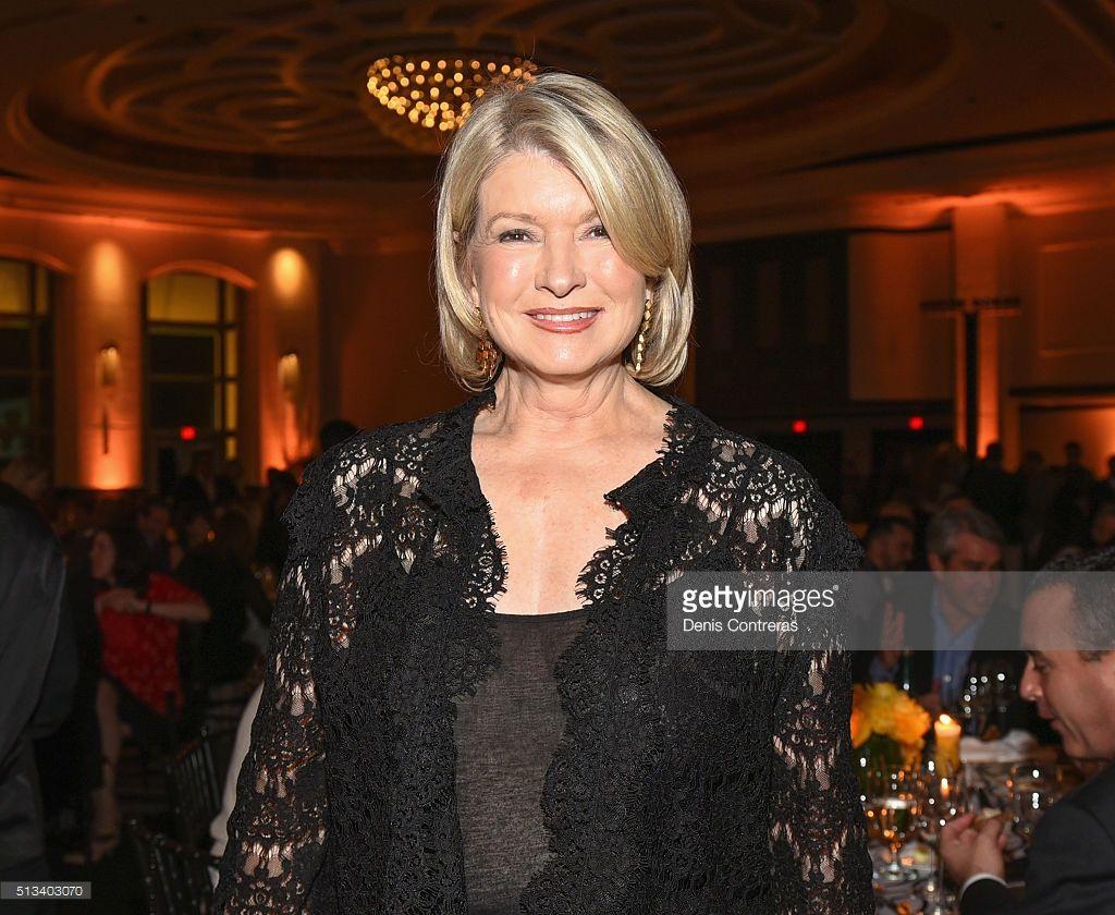 Martha Stewart attends a Tribute Dinner Honoring Jonathan