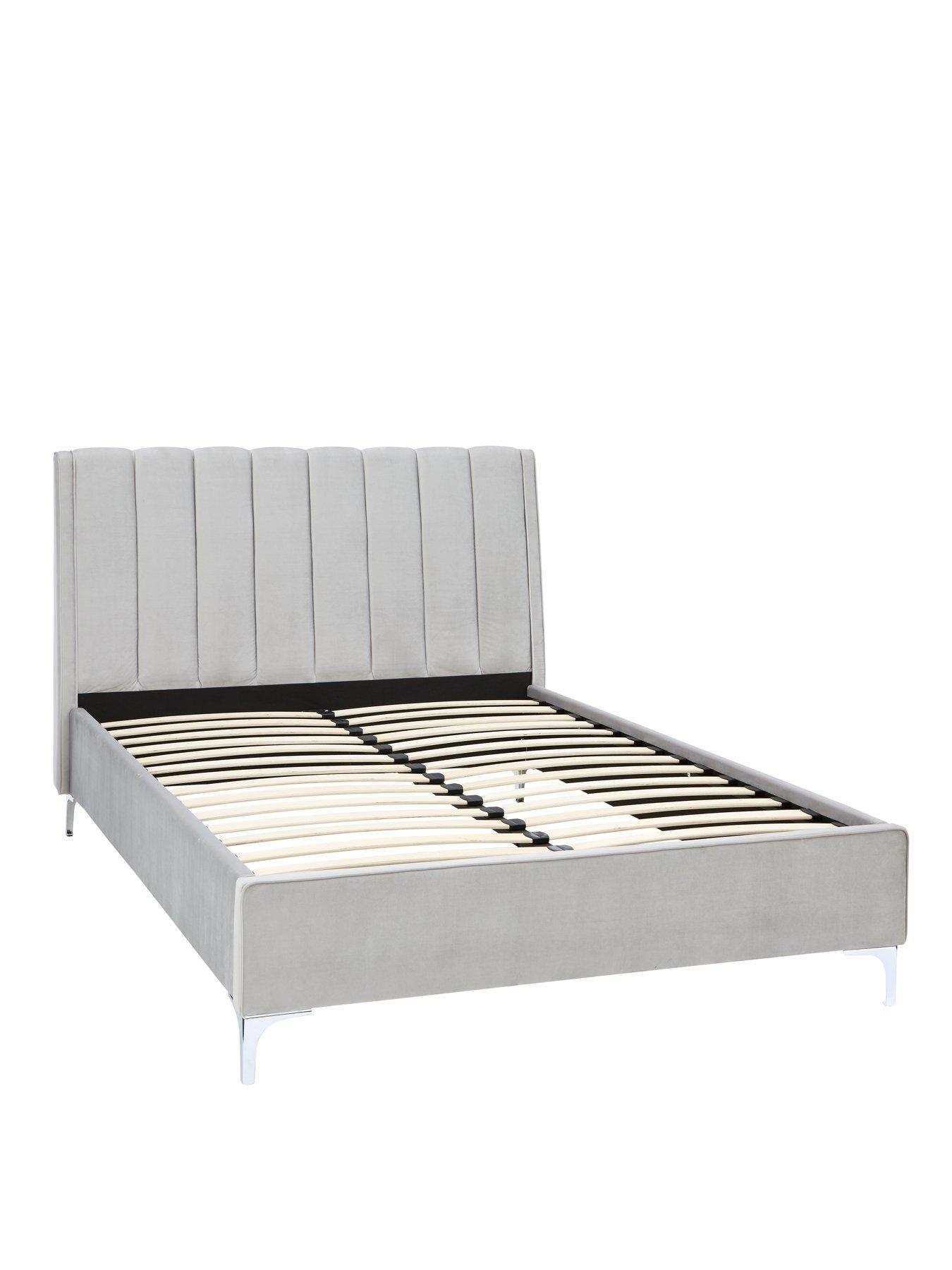 Myleene Klass Home Phoebe Velvet Bed Frame With Mattress Options