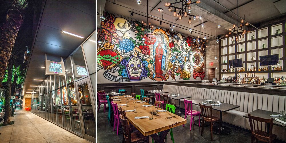 Johnny Sanchez Restaurant By Chefs John Besh And Aarn Snchez In New Orleans LA Interior Build Furniture Construct Custom Architectural