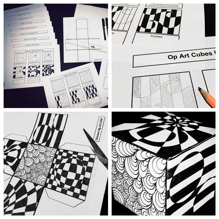 10+ Art Therapy Ideas | Op art, Art therapy and Teaching art