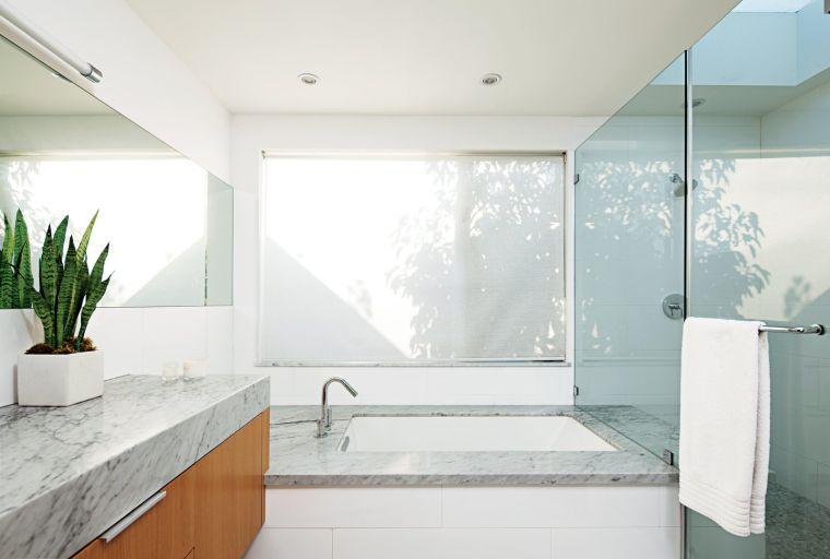 Salle de bain gris et blanc en 27 modèles de déco tendance Plan de