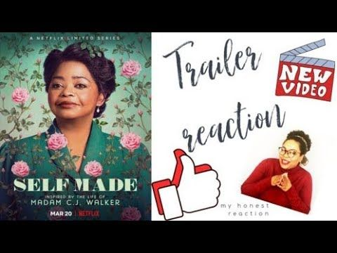 Netflix Series Self Made Trailer Reaction 2020 I Octavia Spencer, Blair Underwood, Tiffany Haddish