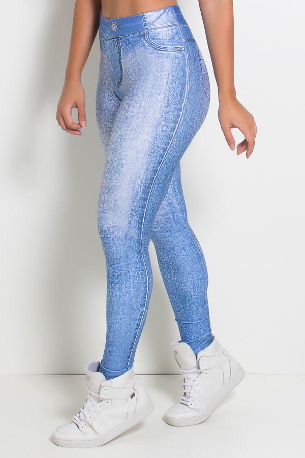 ce459588f8 Legging Jeans Clara Sublimada - R 80