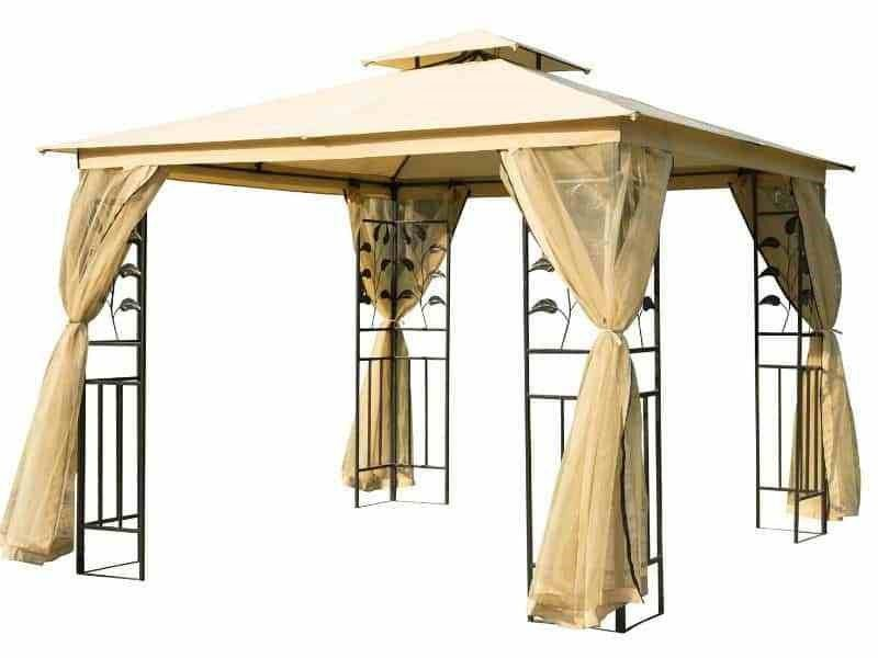 Canopy Nice And Beautiful Durable White Aluminum Alloy Carport