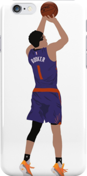 'Devin Booker' iPhone Case by Infamousbball