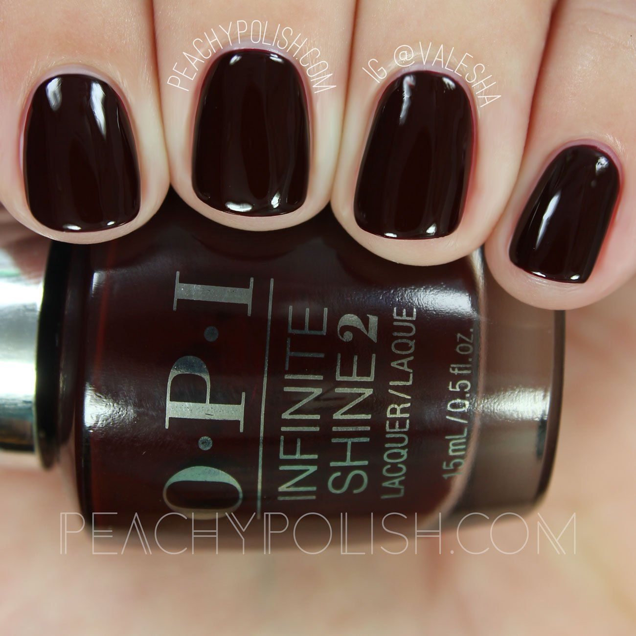 Opi Party At Holly S Infinite Shine Breakfast At Tiffany S Collection Peachy Polish