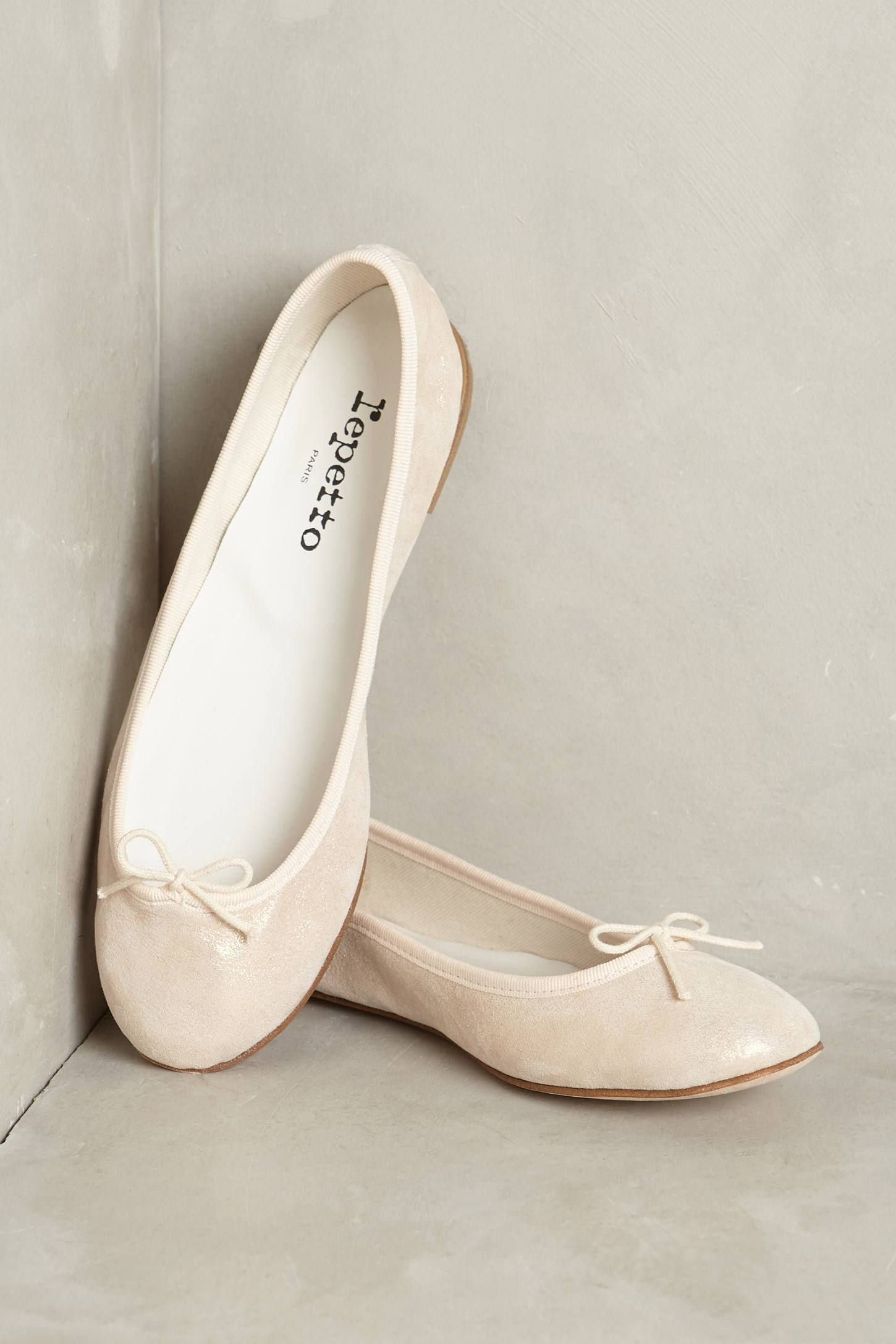 b9c148a0380 Slide View: 1: Repetto Cendrillon Metallic Ballet Flat | shoes ...