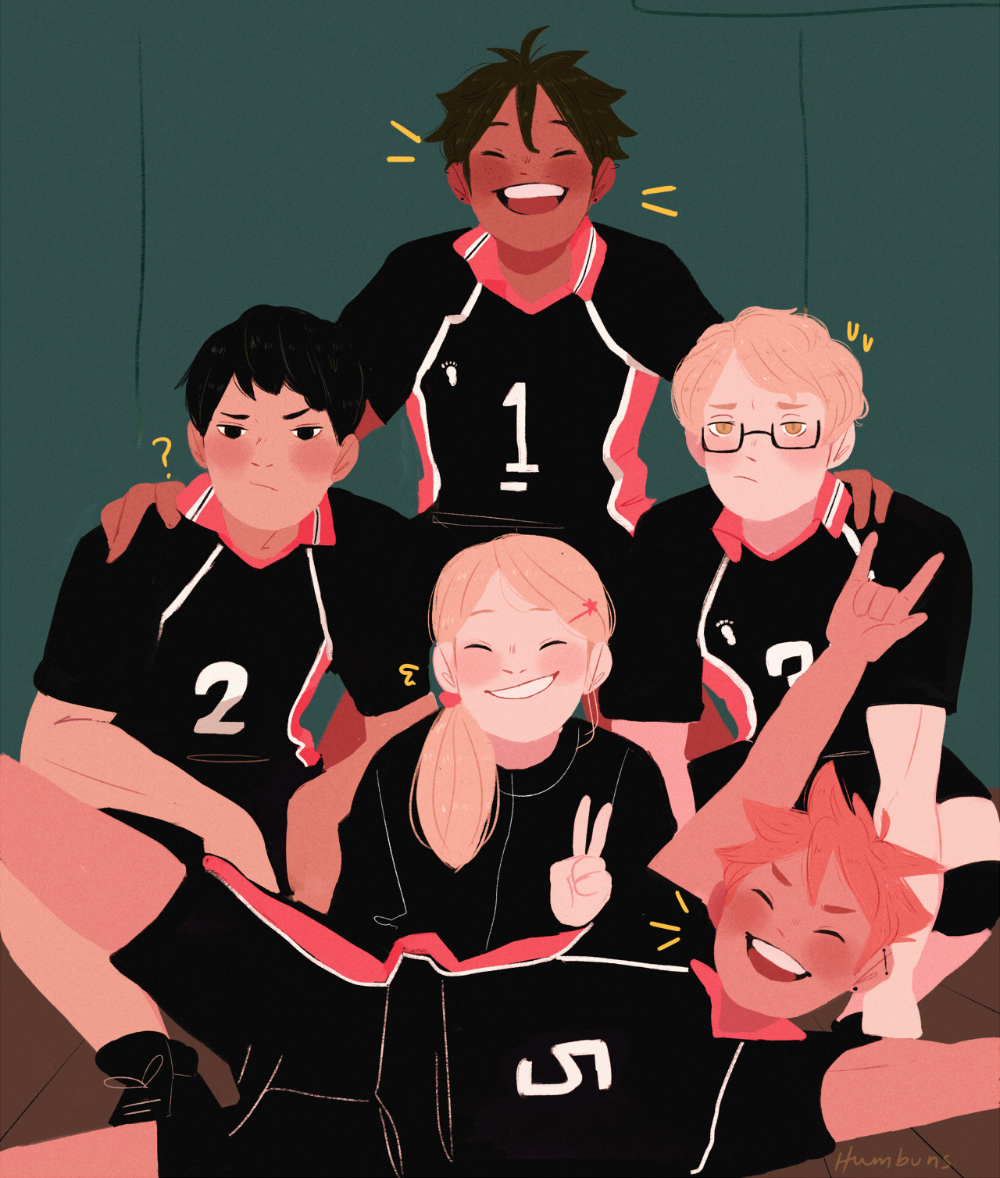 Haikyuu Stuff Starbubs Baby Crows All Grown Up Keep In 2020 Haikyuu Anime Haikyuu Characters Haikyuu Fanart
