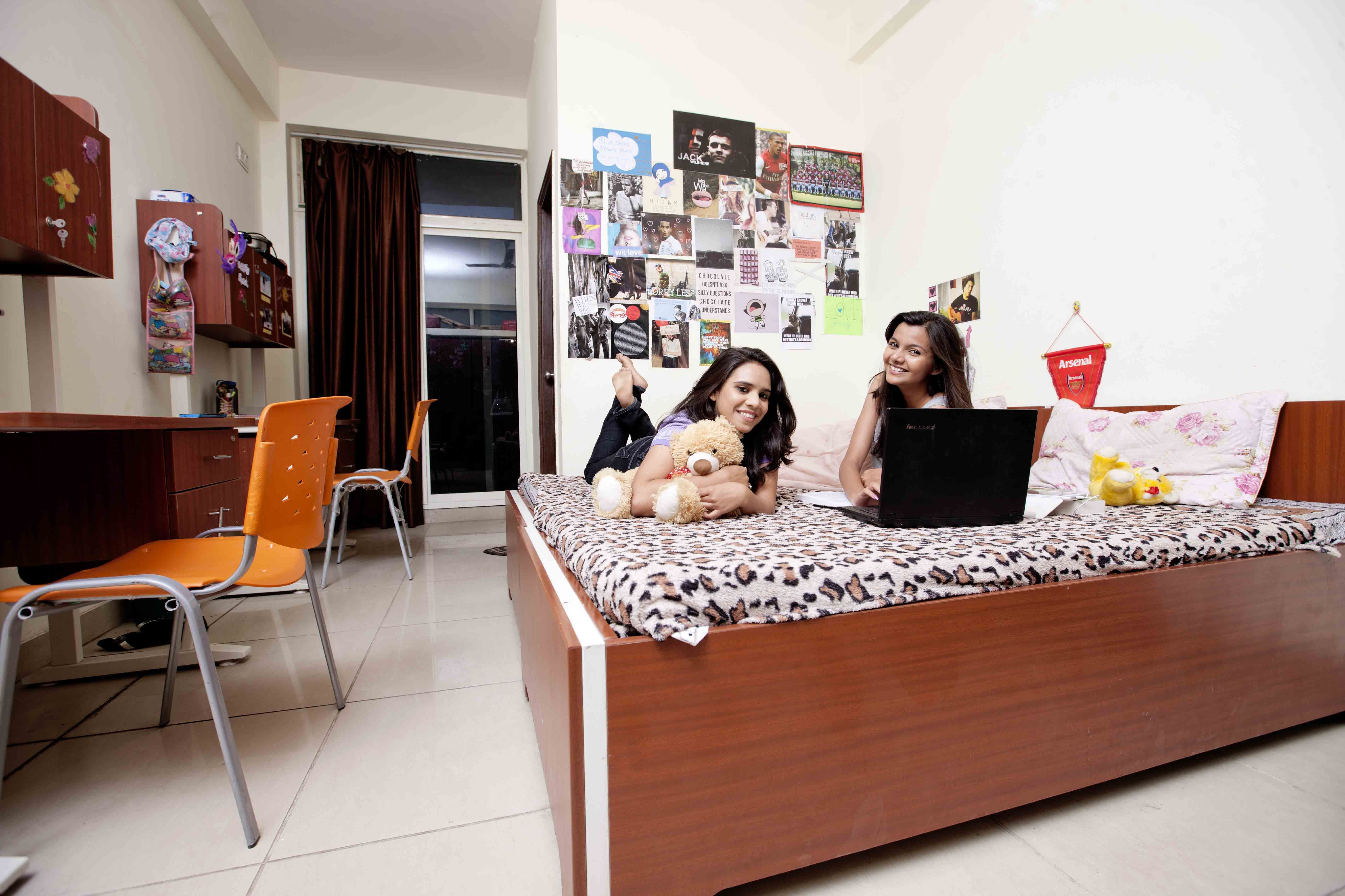 Girls Hostel Sharda University Greater Noida Campus
