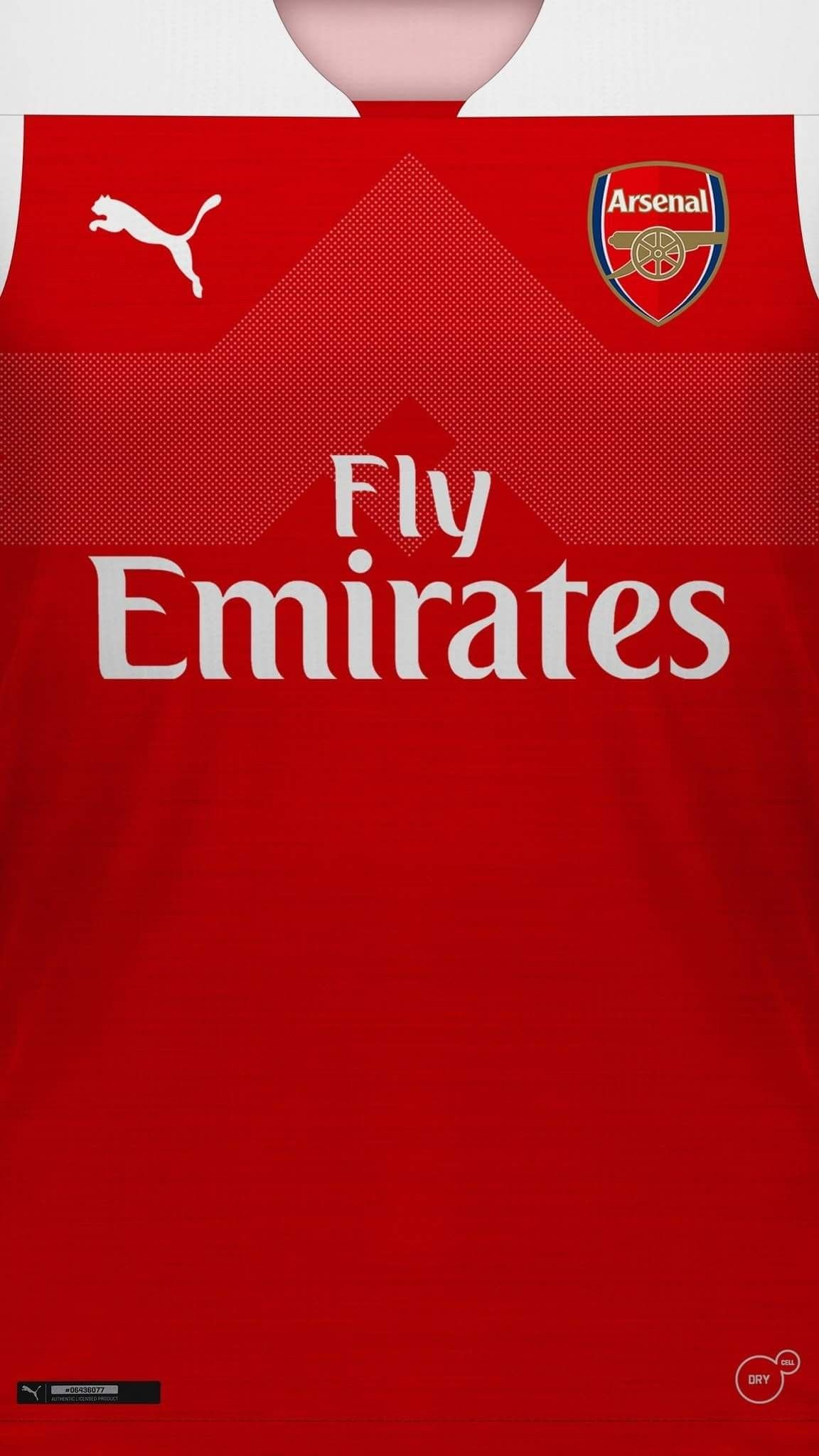 Arsenal 201819 Home Kit Wallpaper Afc Coyg Football Focused
