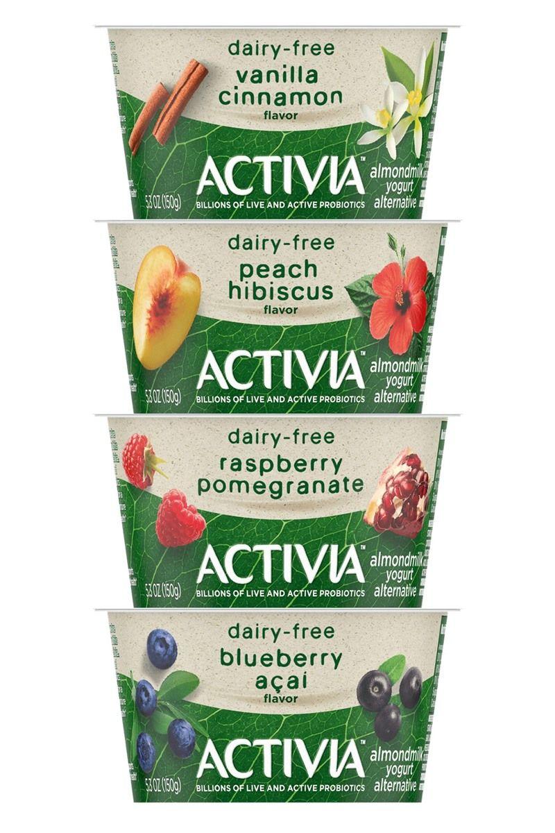 Activia almondmilk yogurt by dannon reviews info dairy