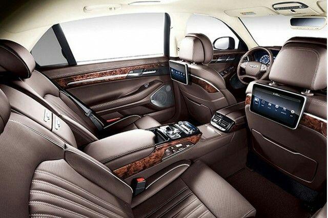 Genesis Car 2017 G90 Interior Best Luxury Cars Hyundai Luxury Cars