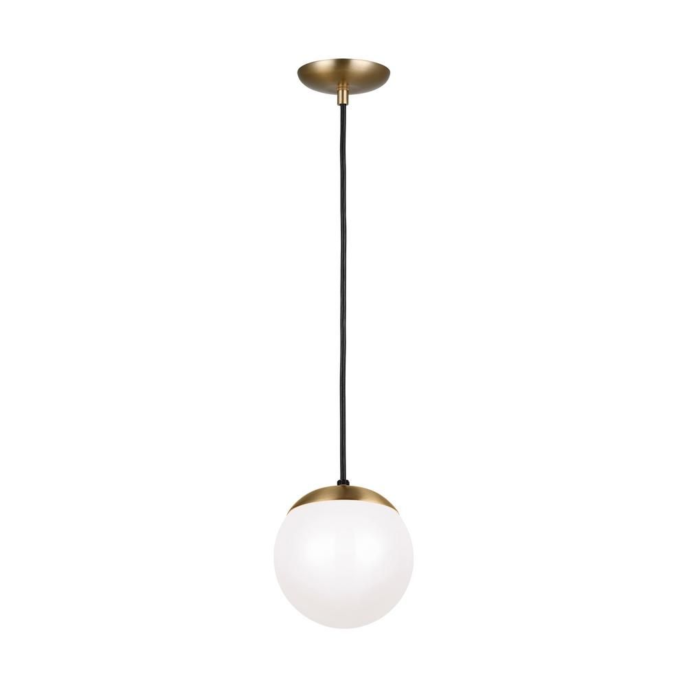 Sea Gull Lighting Leo Hanging Globe 8 In 1 Light Satin Bronze