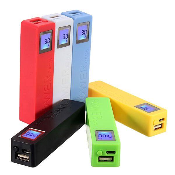 no battery) power bank diy box case with led display screen  diy power bank box with circuit board