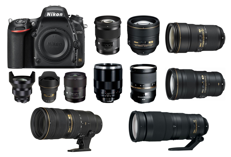 Nikon D750 is Nikon\'s latest full frame professional DSLR camera ...