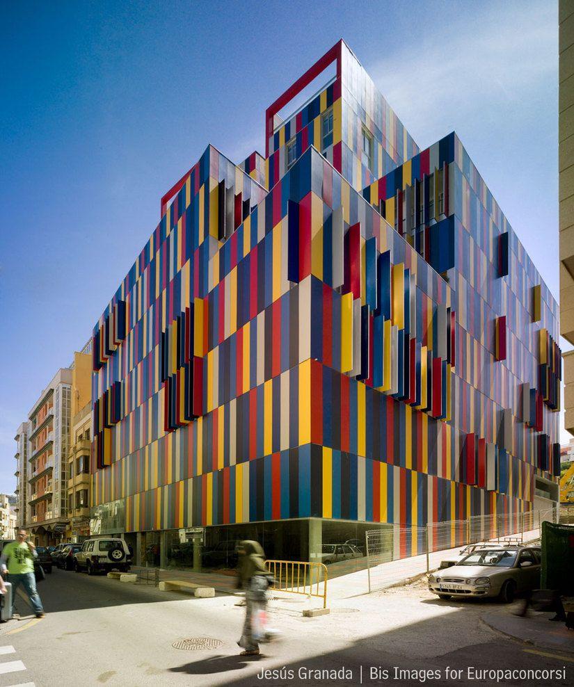 Ceuta spain edificio de viviendas pret a porter mgm for Pret a porter