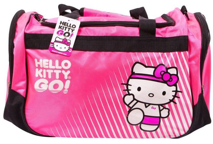 958570f2b6da hello kitty gym bag pink sports and like OMG! get some yourself some  pawtastic adorable cat shirts