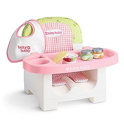 American Girl 174 Feeding Set For Bitty Baby Our Little