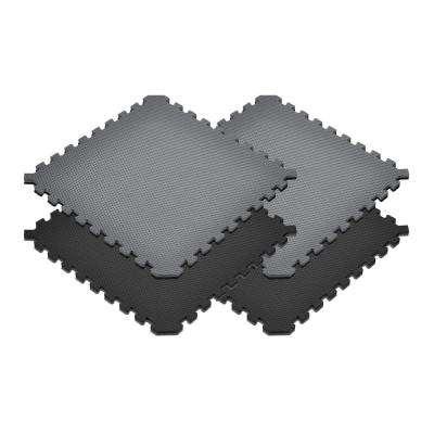 Norsk Black Gray 24 In X 24 In X 0 79 In Foam Interlocking