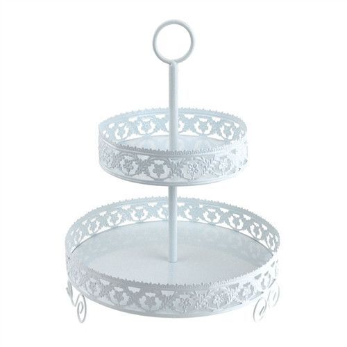 These cupcake dessert stands are great for baby showers, baptism banquets, sports banquets, weddings & celebrations, sweet tables, birthday parties, brunches, etc. Assembly takes only 3 minutes. Holds