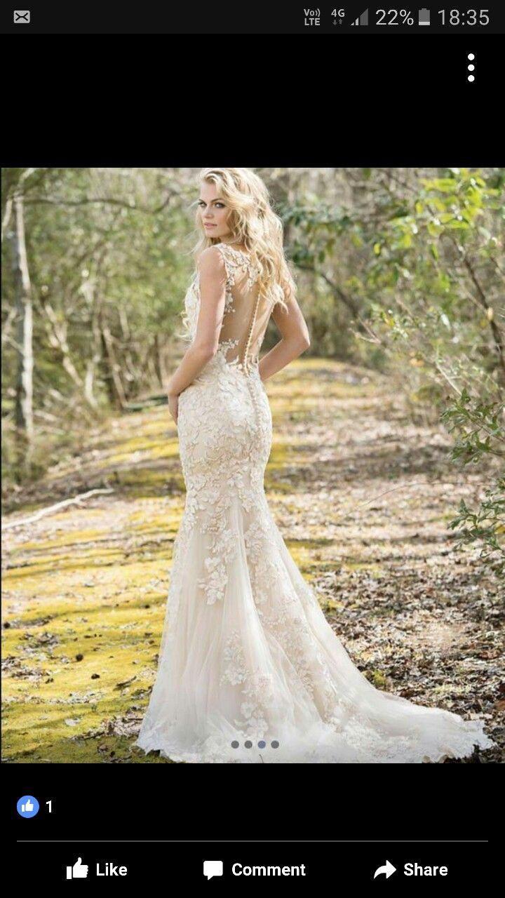 Brown wedding dresses  Pin by Lauren Goldie on wedding  Pinterest  Wedding