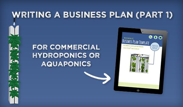 Commercial Hydroponics Writing A Business Plan Part Teach - Aquaponics business plan templates