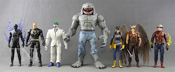 DC Multiverse Click /& Collect King Shark Set Of 6 Action Figures