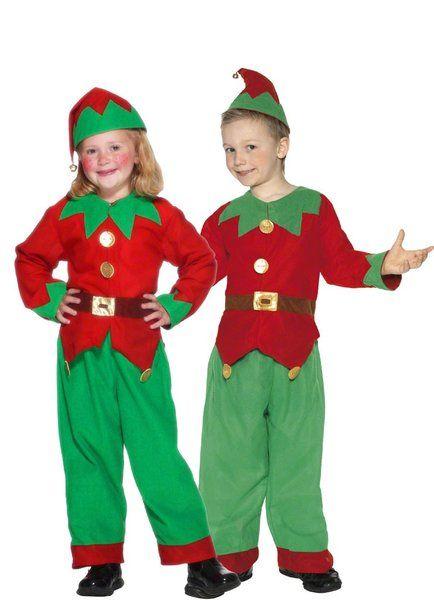 b638f04d84 christmas costumes kids girls boys elf costume christmas fancy dress ...