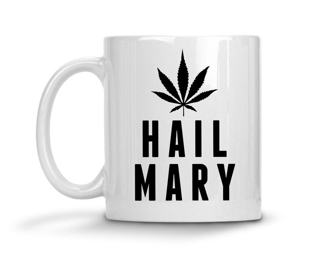 Hail Mary Ceramic Coffee Mug