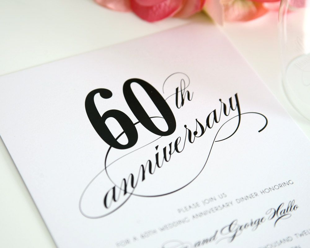 Beautiful 60 Wedding Anniversary Party Ideas Photos - Styles ...
