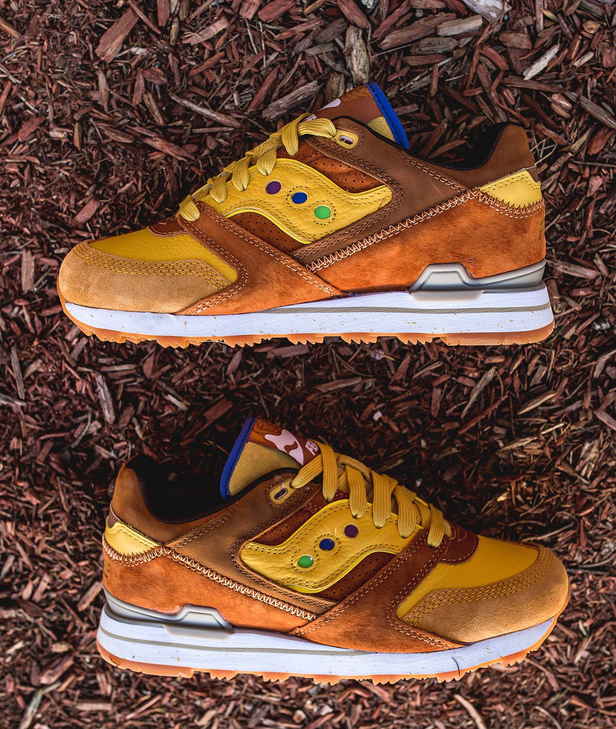 "b01ccdff0545 Feature x Saucony Courageous ""Belgian Waffle"" (Detailed Pictures) - EU  Kicks  Sneaker Magazine"
