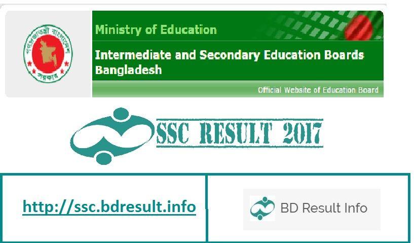 SSC Result 2017 bd, education board result , ssc result