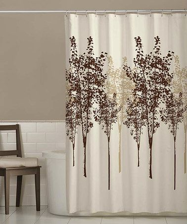 Create A Beautiful Naturally Elegant Backdrop For Your Bath Space With The Delaney Shower Curtain Featuring Beautifully Soothing Tree Motif