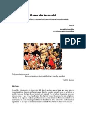 Temario El Nuevo Cine Documental Publishing