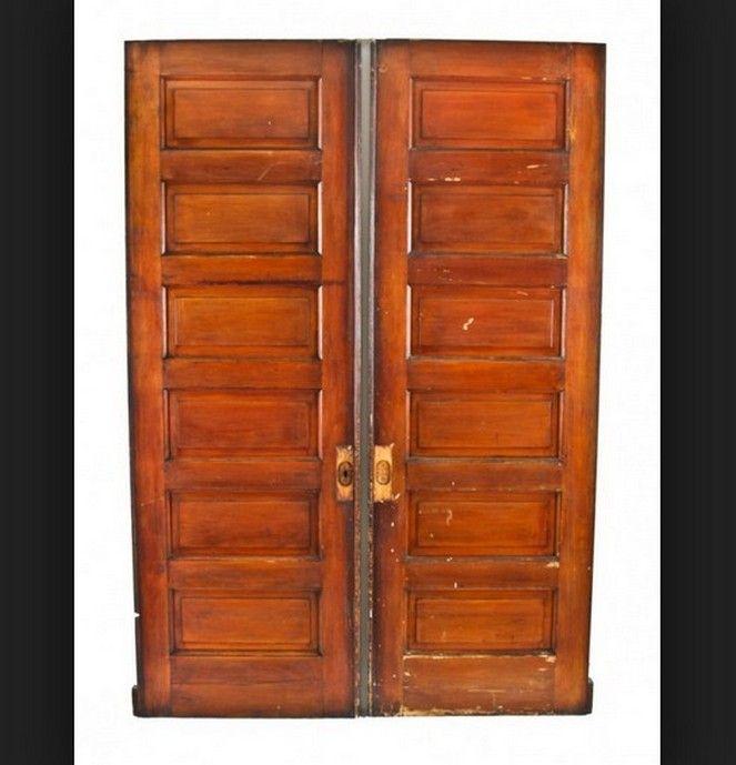 Exceptional Interior Six Panel Solid Wood Exterior Door Design