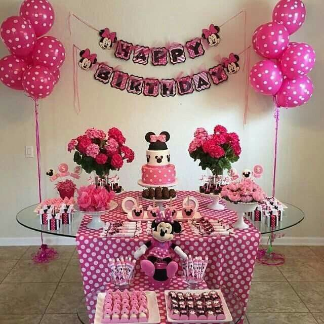 Minnie Mouse 2 Birthday Decorations