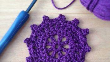 A Little Round Crochet Motif