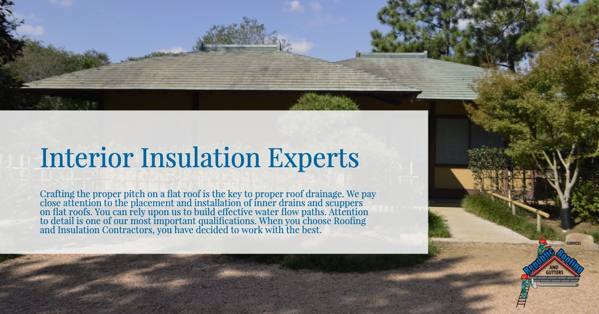 Interior Insulation Experts Commercial Roofing Interior Insulation Roof Insulation