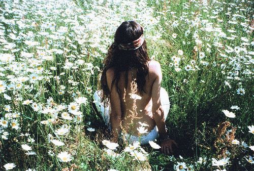 Laying in #Daisies