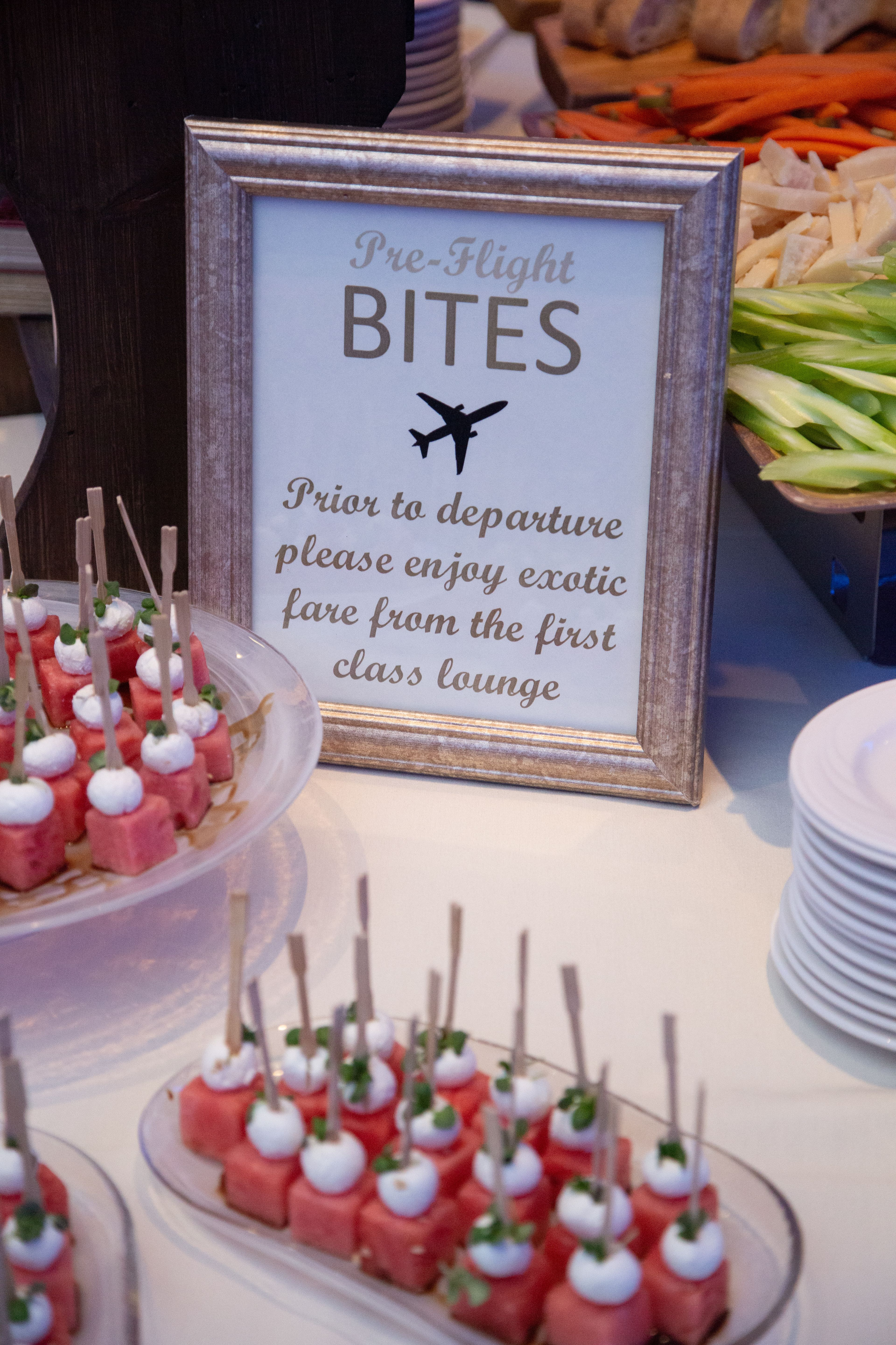 Pin By Leslie W On Special Day In 2020 Travel Party Theme Travel Bridal Showers Party Food Themes