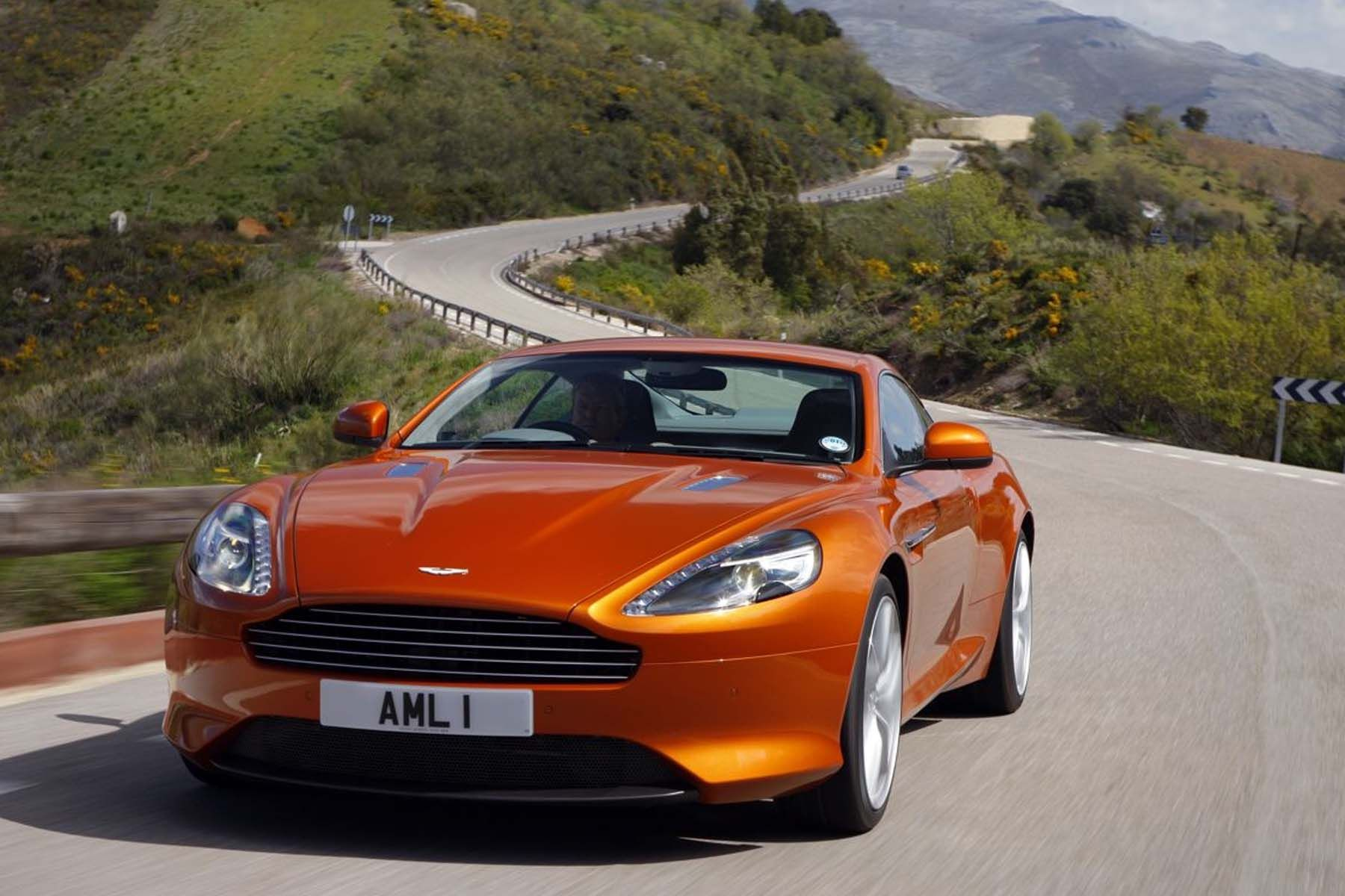 The Aston Martin Virage is simply breathtakingly beautiful This car