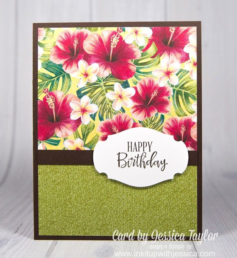Mix & Match Your Patterned Papers - Ink it Up With Jessica | Card Making Ideas | Stamping Techniques
