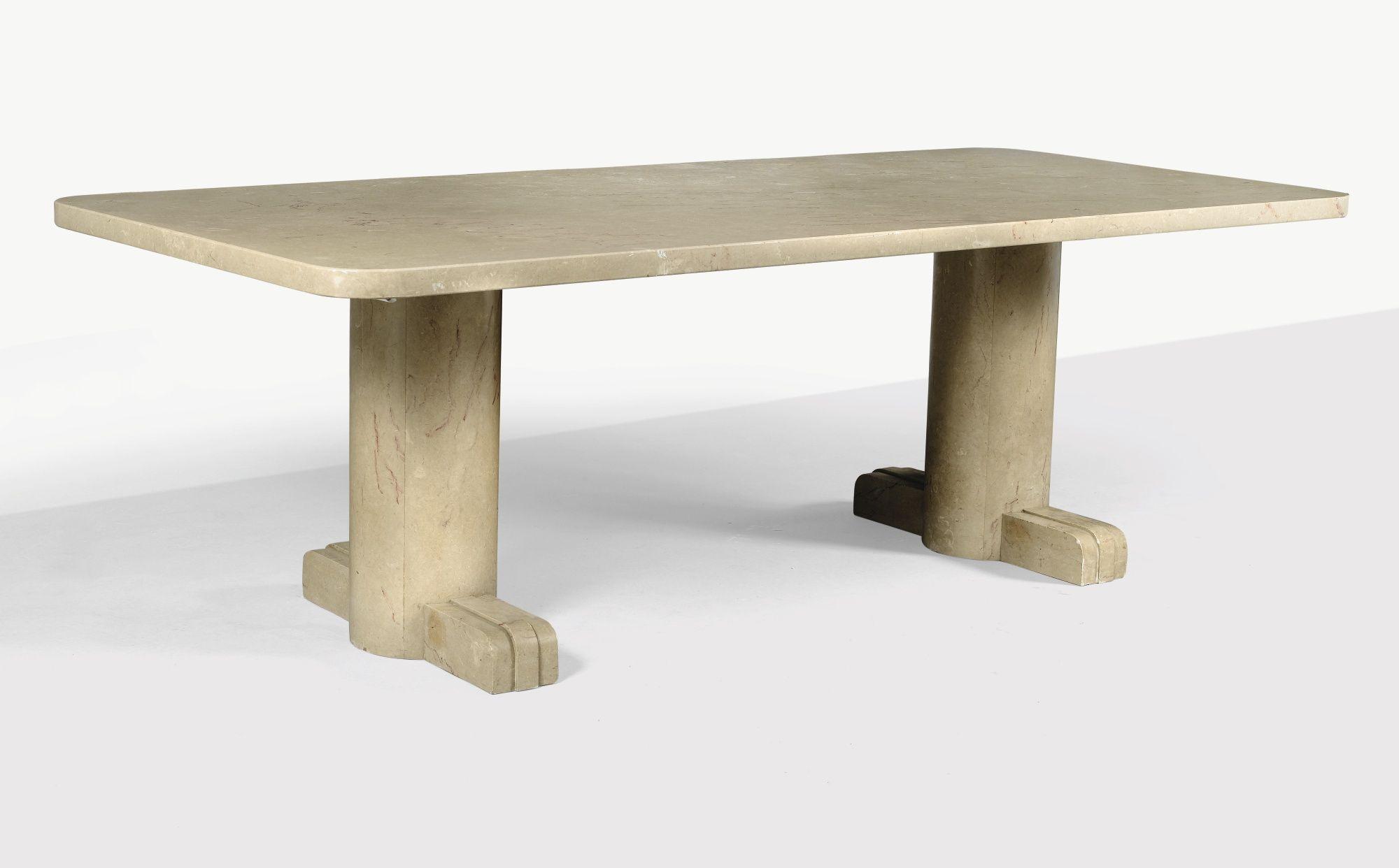 herbst rené dining table cir furniture sotheby s