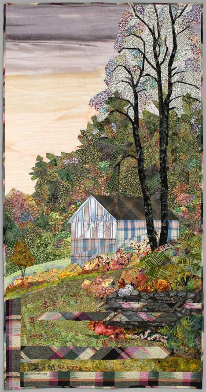 Farmscape Quilt Landscape Art Quilts Landscape Quilts Landscape Quilt