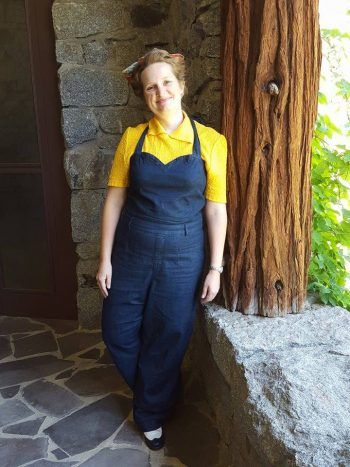 d54c4da07e7 My 1940s style overalls from the Kim Kardashian clothing line
