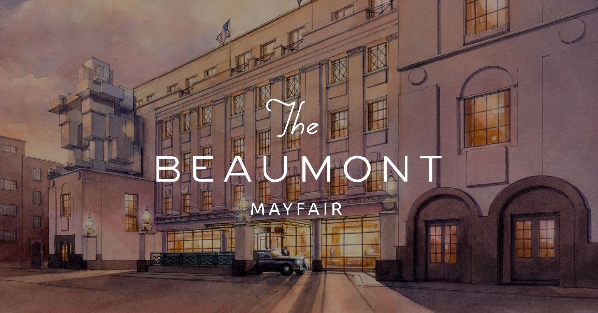 The Beaumont Is An Independent Distinctive Hotel In Clic Tradition Superbly Located On