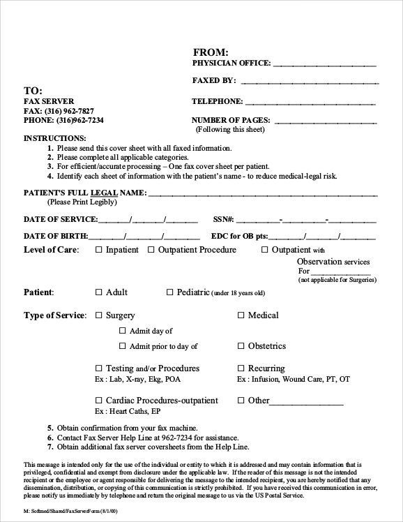 Sample Fax Cover Sheet For Resume Documents Pdf Word Free Download