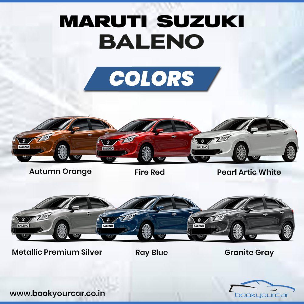 Maruti Suzuki Baleno Suzuki Blue Granite Motor Car