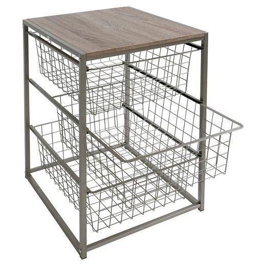 Swell 3 Drawer Closet Organizer Threshold Gray Brown In 2019 Machost Co Dining Chair Design Ideas Machostcouk